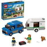 Lego City Great Vehicles 60117 Van and Caravan