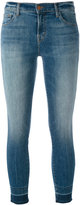 J Brand cropped skinny jeans - women - Cotton/Polyester/Spandex/Elastane - 27