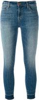 J Brand cropped skinny jeans - women - Cotton/Polyester/Spandex/Elastane - 27