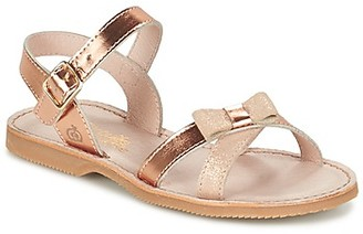 Citrouille et Compagnie JISCOTTE girls's Sandals in Gold