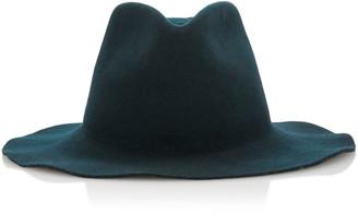 Janessa Leone Rowan Wool Fedora Hat