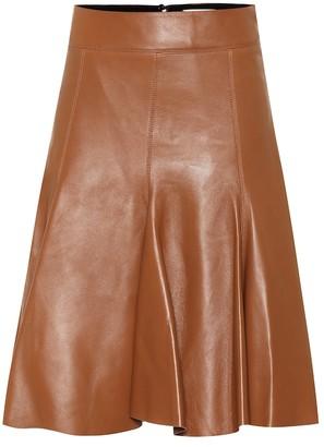 Schumacher Dorothee Exclusive to Mytheresa Modern Volumes leather midi skirt