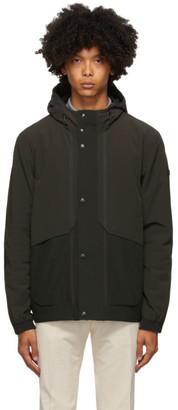 Ermenegildo Zegna Black Hooded Field Jacket