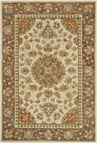 Loloi Rugs Victoria Wool Rug - Ivory/Charcoal
