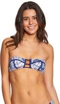 Roxy Swimwear Visual Touch Bandeau Bikini Top 8151939