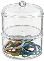 Container Store 2-Section Acrylic Stacking Canister