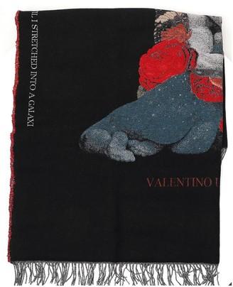 Valentino X Undercover Graphic Printed Scarf