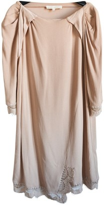 Vanessa Bruno Camel Lace Dresses