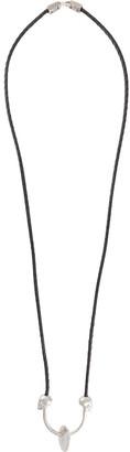 Alexander McQueen Double Skull Pendant Necklace
