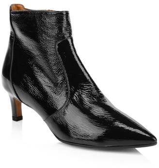 Aquatalia Marilisa Patent Leather Ankle Boots