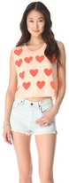 Wildfox Couture Baby Love Charlie Tank