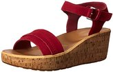 Rockport Women's Weekend Lanea Fringe Quarter Strap Platform Sandal