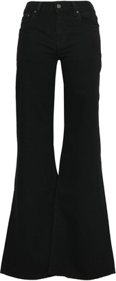 Rockins Loon Mid-rise Wide-leg Jeans