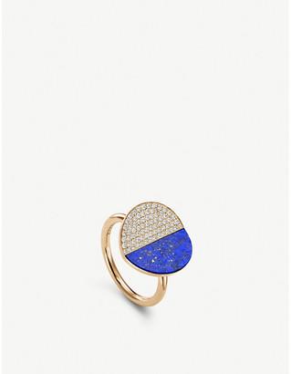 Lapis BUCHERER FINE JEWELLERY B Dimension 18ct yellow-gold, diamond and ring