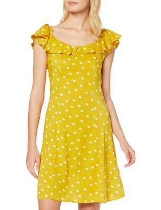 Dorothy Perkins Women's Spun Viscose Bardot Dress (Will