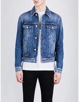 Versace Graphic-print Denim Jacket