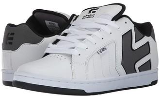 Etnies Fader 2 (White/Grey/Black) Men's Skate Shoes
