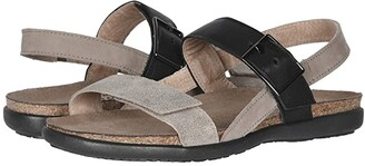 Naot Footwear Norah (Cork Leather/Nude Nubuck/White Diamond Leather) Women's Shoes