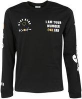 Kenzo Black X Fan T-shirt