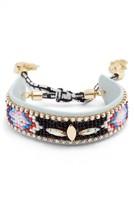 Rebecca Minkoff Women's Sparkler Seed Bead Bracelet