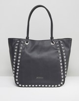 Love Moschino Stud Tote Bag