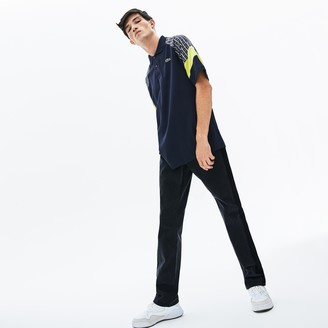 Lacoste Men's LIVE Straight Cut 5-Pocket Cotton Jeans