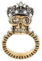 Alexander McQueen 'King Skull' ring