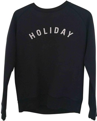 Holiday Navy Cotton Knitwear