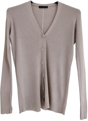 The Row Grey Silk Knitwear