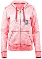 5th & Ocean Women's St. Louis Cardinals Space Dye Hooded Sweatshirt