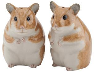 Quail Ceramics - Hamster Salt and Pepper Shakers