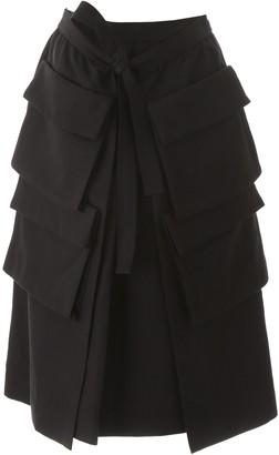 Lemaire Multi Pocket Midi Skirt