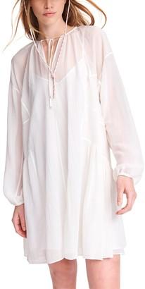 Rag & Bone Melody Silk-Blend Dress