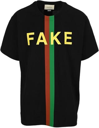 Gucci Logo Printed Oversize T-Shirt