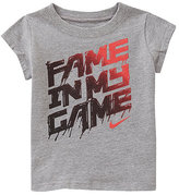 Nike 12-24 Months Fame In My Game Short-Sleeve Tee