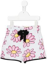 MonnaLisa floral print shorts - kids - Polyester/Viscose - 2 yrs