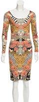 Alexander McQueen Floral Mini Dress w/ Tags
