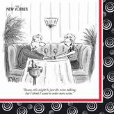 Sur La Table New Yorker Wine Paper Cocktail Napkins