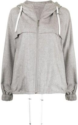 Colombo Zip-Up Hooded Jacket