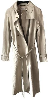 Ramosport Beige Cotton Trench Coat for Women