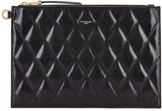 Givenchy Medium GV3 Ring Pouch in Black | FWRD