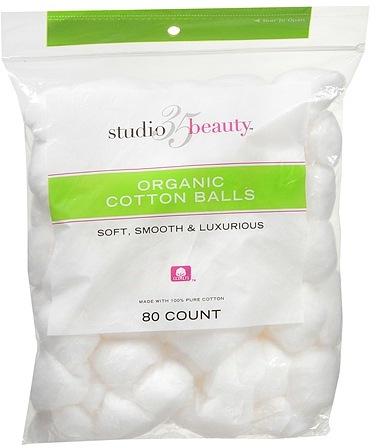 Studio 35 Beauty Organic Cotton Balls