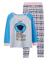 Sesame Street Cookie Monster Pyjama Set
