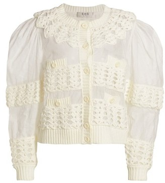 Sea Cleo Crochet Cardigan
