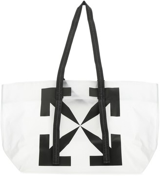 Off-White Arrows Print Tote Bag