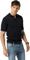 Tommy Hilfiger Custom Fit Solid Polo