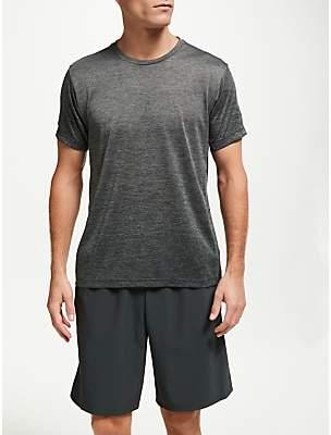 adidas FreeLift Short Sleeve Training T-Shirt, Grey