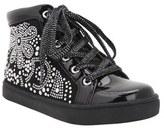 Nina Girl's 'Nanon' Crystal Studded Sneaker