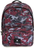Topman DEVOTE Grey and Red Camo Backpack*