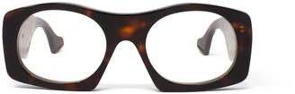 Gucci Geometric Frame Glasses